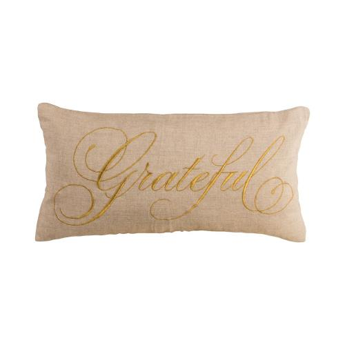 Elk-Home PLW028-P Grateful - 20x12 Inch Pillow Cover Only