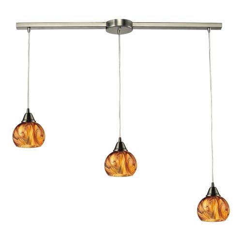 Elk Lighting 10395/3 Ella - Three Light Chandelier