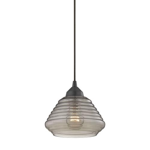 Elk Lighting 1042P Orbital - One Light Mini Pendant