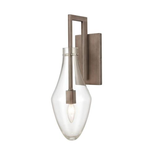 Elk Lighting 12290/1 Culmination - 1 Light Wall Sconce in Transitional Style with Luxe/Glam and Southwestern inspirations - 19 Inches tall and 6 inches wide