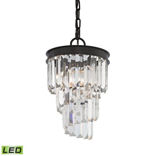 Elk Lighting 14216/1-LED Palacial - 12 Inch 4.8W 1 LED Mini Pendant