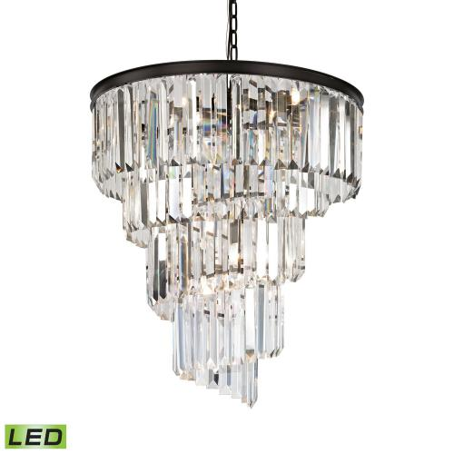 Elk Lighting 14218/9-LED Palacial - 31 Inch 43.2W 9 LED Chandelier