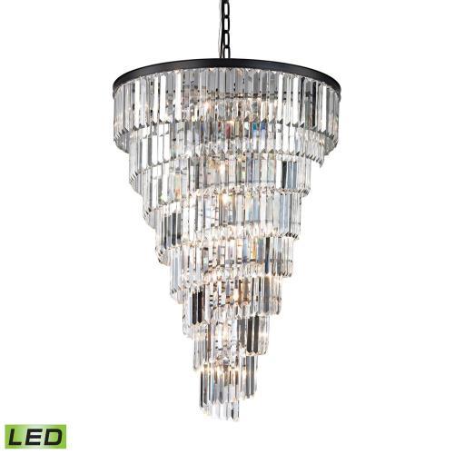 Elk Lighting 14219/14-LED Palacial - 53 Inch 72W 15 LED Chandelier