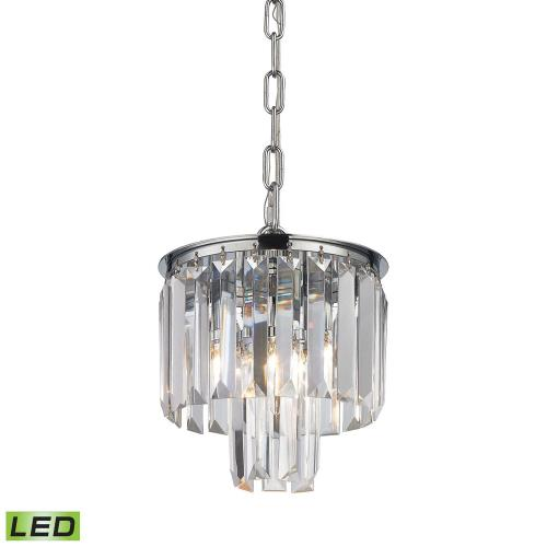Elk Lighting 152-4/1-LED Palacial - 8 Inch 4.8W 1 LED Mini Pendant
