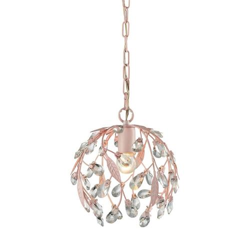 Elk Lighting 18150/1 Circeo - 1 Light Mini Pendant in Traditional Style with Shabby Chic and Nature/Organic inspirations - 10 Inches tall and 10 inches wide