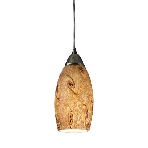 Elk Lighting 20001/1MG-O Galaxy - One Light Pendant