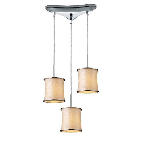 Elk Lighting 20024/3 Fabrique - Three Light Drum Pendant