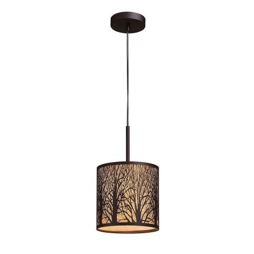 Elk Lighting 31073/1 Woodland Sunrise - 13 Inch 9.5W 1 LED Mini Pendant