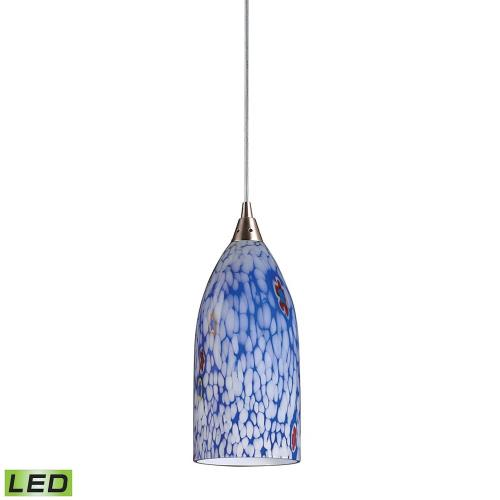 Elk Lighting 502-1 Verona - 1 Light Mini Pendant in Transitional Style with Boho and Eclectic inspirations - 12 Inches tall and 5 inches wide