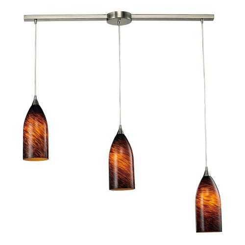 Elk Lighting 502-3 Verona - Three Light Triangular Pendant