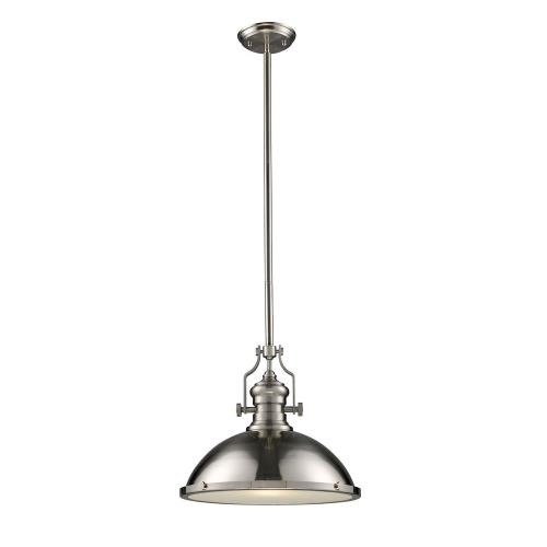 Elk Lighting 66128-1 Chadwick - 17 Inch 9.5W 1 LED Pendant