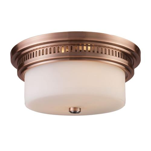 Elk Lighting 66141-2 Chadwick - Two Light Flush Mount