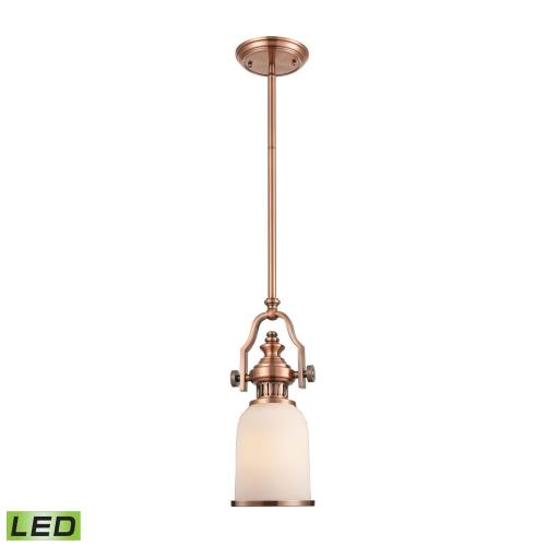 "Elk Lighting 66142-1 Chadwick - 16.5"" 9.5W 1 LED Mini Pendant"