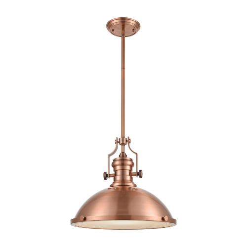 "Elk Lighting 66148-1 Chadwick - 17"" 9.5W 1 LED Pendant"