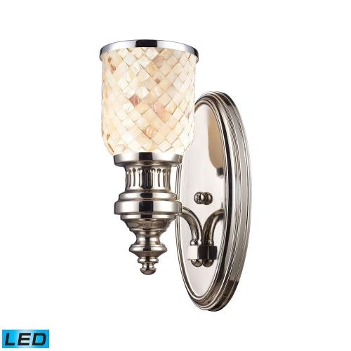 "Elk Lighting 66410-1-LED Chadwick - 13"" 9.5W 1 LED Wall Sconce"