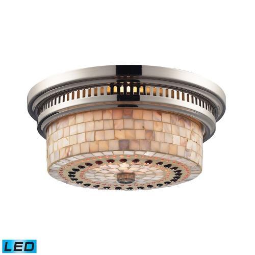 Elk Lighting 66411-2-LED Chadwick - Two Light Flush Mount