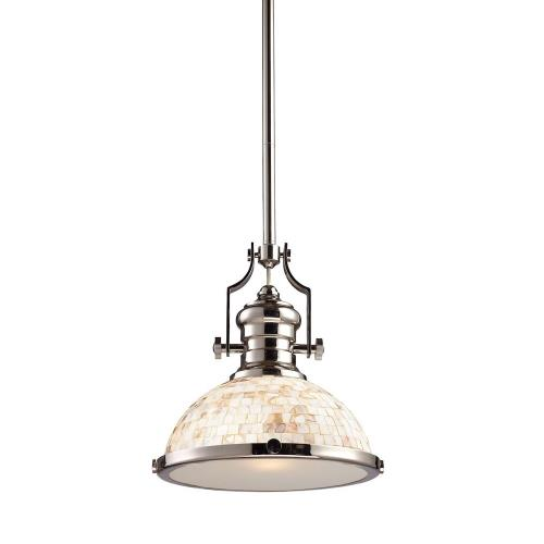 "Elk Lighting 66413-1 Chadwick - 14"" 9.5W 1 LED Pendant"