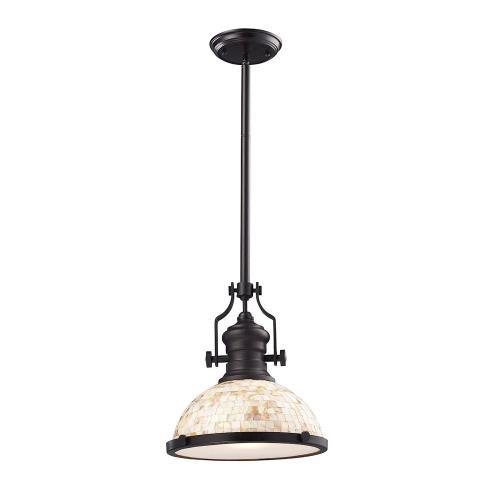 Elk Lighting 66433-1 Chadwick - 14 Inch 9.5W 1 LED Pendant