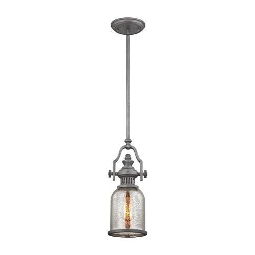 Elk Lighting 66534-1 Chadwick - One Light Mini Pendant