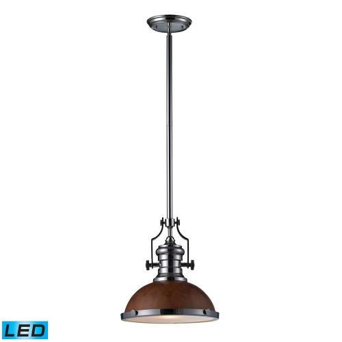 "Elk Lighting 66565-1 Chadwick - 13"" 9.5W 1 LED Pendant"