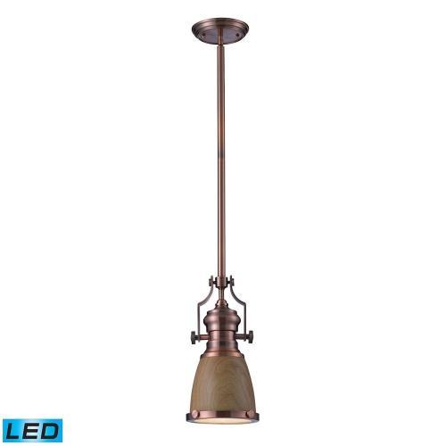 Elk Lighting 66712-1 Chadwick - 14 Inch 13.5W 1 LED Pendant