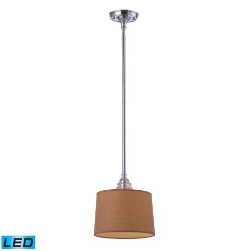 Elk Lighting 66809-1 Insulator Glass - 11 Inch 13.5W 1 LED Pendant