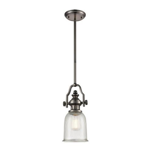 Elk Lighting 67201-1 Chadwick - One Light Mini Pendant