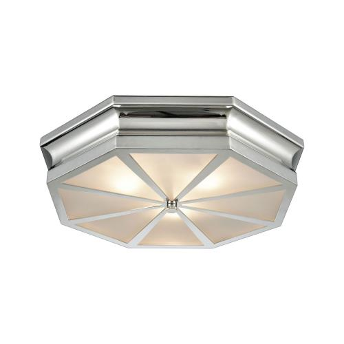 Elk Lighting 6811/3 Windsor - Three Light Flush Mount