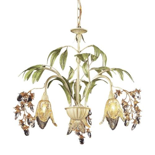 Elk Lighting 86052 Huarco - Three Light Chandelier