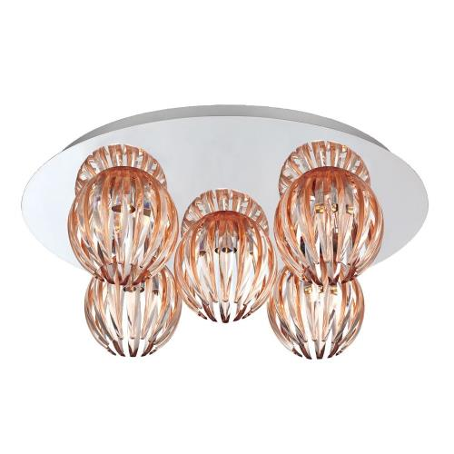 Eurofase Lighting 23206-014 Cosmo - Five Light Flush Mount