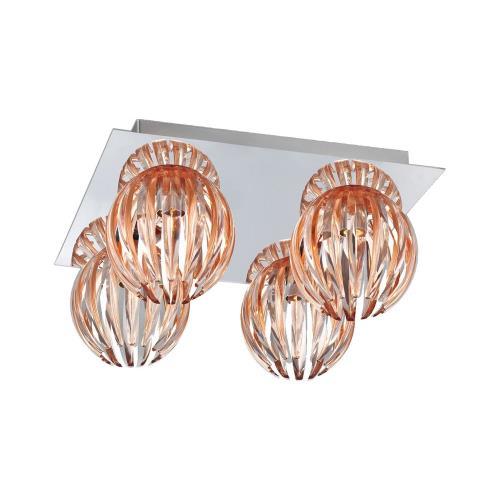 Eurofase Lighting 23207-011 Cosmo - Four Light Flush Mount