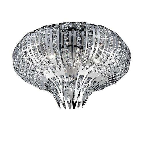 Eurofase Lighting 26328 Monica - 6 Light Flush Mount - 19.5 Inches Wide by 13 Inches High