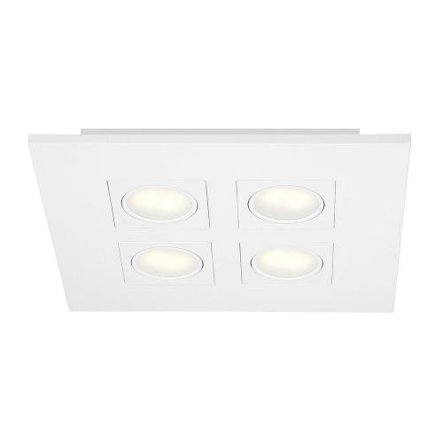 Eurofase Lighting 27992-012 Venue - 14.5 Inch 36W 4 LED Square Flush Mount