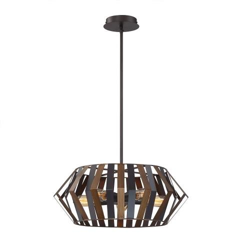 Eurofase Lighting 38268 Bevelo - 5 Light Chandelier in Transitional Industrial Style - 2 Inches Wide by 8 Inches High