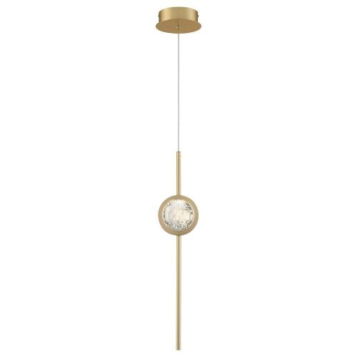 Eurofase Lighting 39463 Barletta - 7W 1 LED Pendant in Posh & Luxe Modern Style - 4.75 Inches Wide by 23.5 Inches High