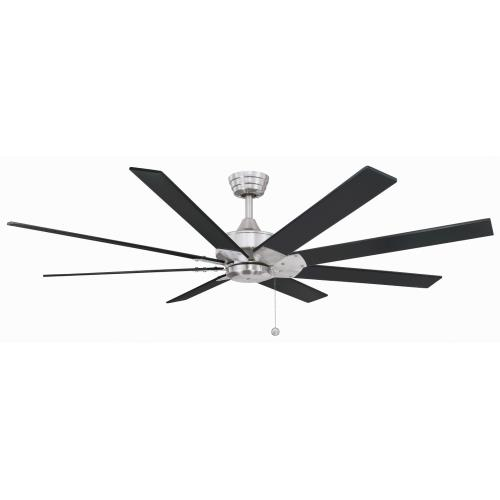 Fanimation Fans FP7910 Levon 8 Blade 63 Inch Ceiling Fan with Pull Chain Control