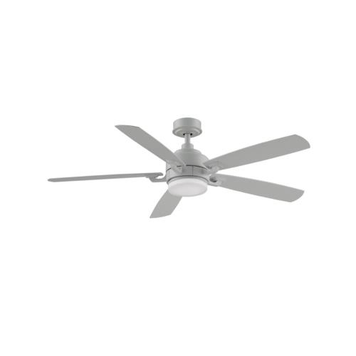 Fanimation Fans FP8003 Benito v2 5 Blade 52 Inch Ceiling Fan with Handheld Control and Includes Light Kit
