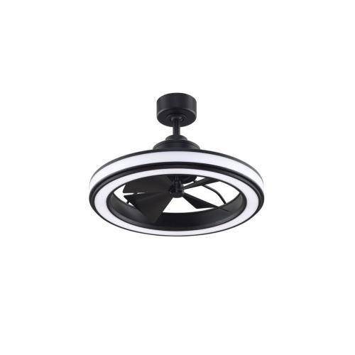 Fanimation Fans FP8404B Gleam 4 Blade 23.7 Inch Ceiling Fan with Handheld Control and Includes Light Kit