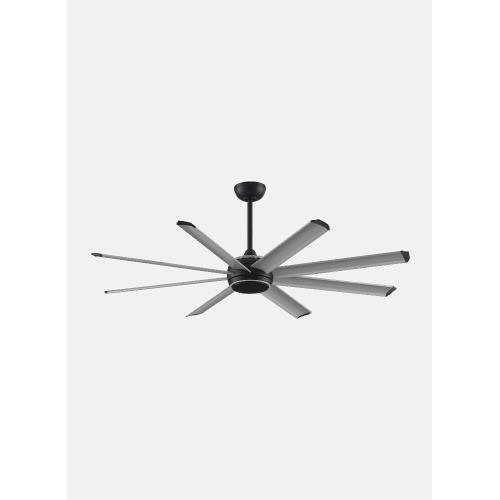 Fanimation Fans FPD7997BLW-72103 Stellar Custom 8 Blade Ceiling Fan with Handheld Control and Includes Light Kit - 72 Inches Wide by 14.15 Inches High