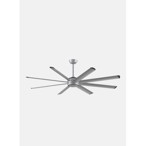 Fanimation Fans FPD7998BLW-96103 Stellar Custom 8 Blade Ceiling Fan with Handheld Control and Includes Light Kit - 96 Inches Wide by 20.15 Inches High