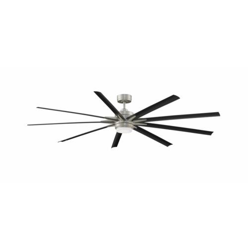 Fanimation Fans FPD8159 Odyn 84 9 Blade 84 Inch Ceiling Fan with Handheld Control and Includes Light Kit