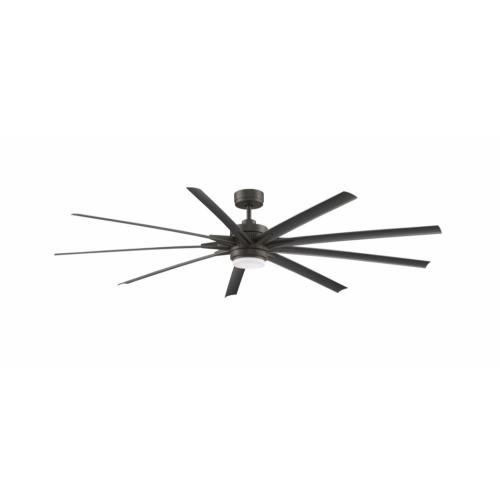 Fanimation Fans FPD8159 Odyn 84 9 Blade Ceiling Fan with Handheld Control and Includes Light Kit - 84 Inches Wide by 16.64 Inches High