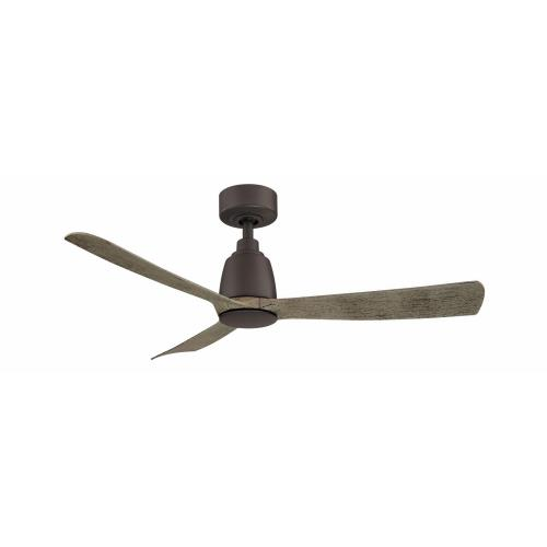 Fanimation Fans FPD8547 Kute 3 Blade 44 Inch Ceiling Fan with Handheld Control