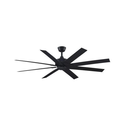 Fanimation Fans MAD7912B Levon Custom 8 Blade  Inch Ceiling Fan with Handheld Control