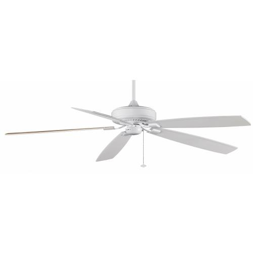 Fanimation Fans TF721WH Edgewood Supreme Blade 72 Inch Ceiling Fan and Optional Light Kit