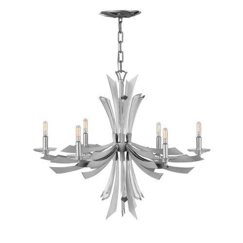 Fredrick Ramond Lighting FR40908GG Vega-One Light Flush Mount-29.25 Inches Wide by 25 Inches Tall