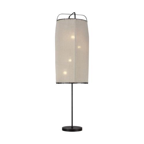 Generation Lighting ET1124AI1 Ellen Collection -Dunne - 57 Inch 38W 4 LED Floor Lamp