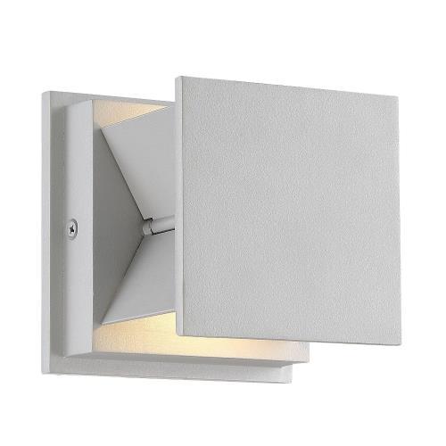George Kovacs Lighting P1243-566-L Baffled - 4.5 Inch 4W 2 LED Wall Sconce