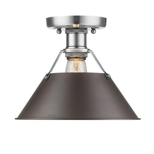 Golden Lighting 3306-FM Orwell - 1 Light Flush Mount