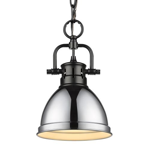 Golden Lighting 3602-M1L Duncan - 1 Light Mini Pendant with Chain